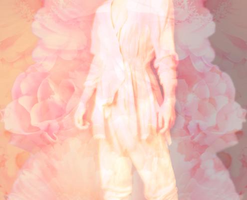 Pink flowers spiritual photography Skip Ros - Ruud van Ooij Amsterdam photography