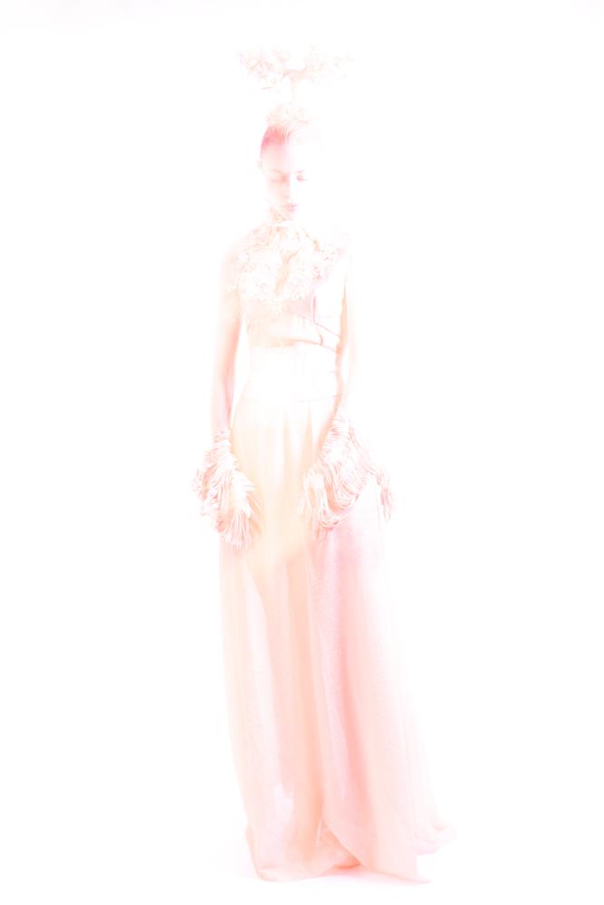 Garden of Eden inspired spiritual fashion photo - Fashion editorial by Ruud van Ooij