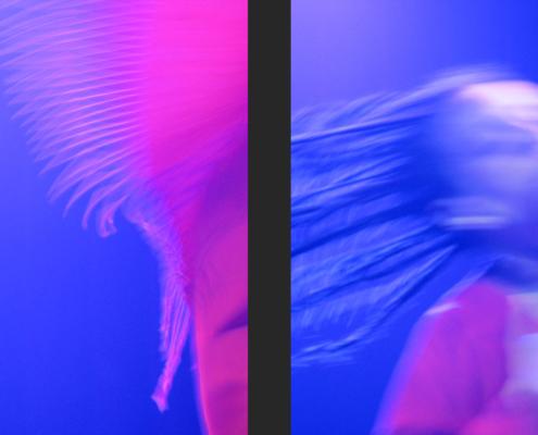 Niyaz concert Amsterdam modern derwish Tanya Evanson - Art photography Ruud van Ooij