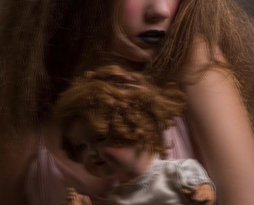 Doll make up vintage doll - Fashion photography Amsterdam Ruud van Ooij