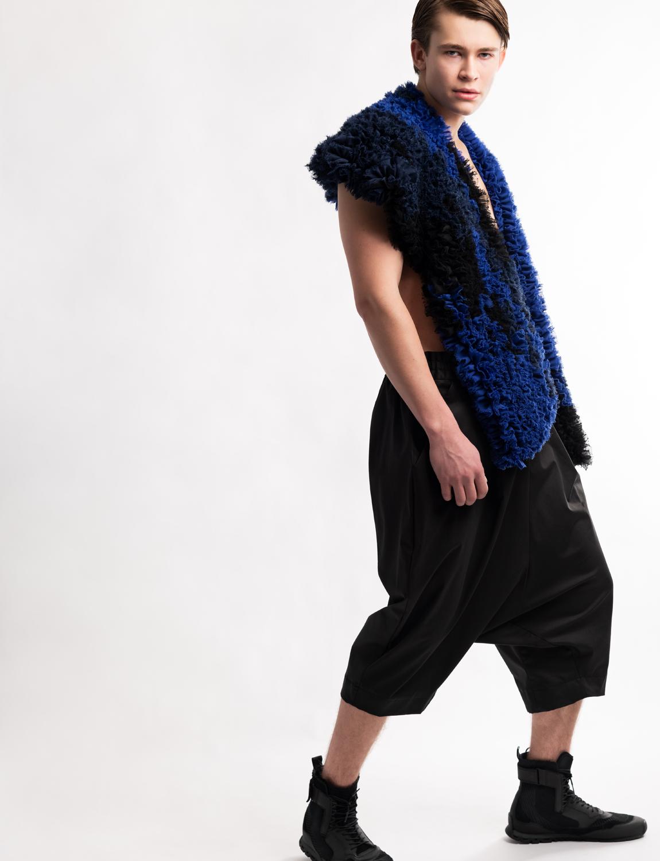 Fashion photographer Amsterdam editorial with Nikolaj Larsson modern masculinity unisex fashion Haruco-vert