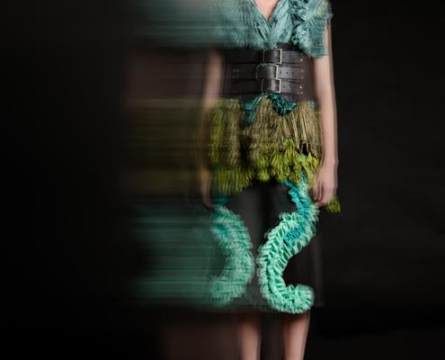 Fashion photographer Amsterdam - model Linda Salden- fashion Haruco-vert